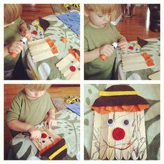 Fun fall Craft for a toddler!