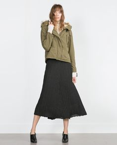 Image 1 of COTTON PARKA from Zara
