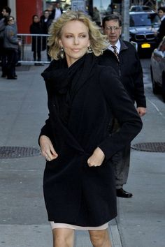 Charlize Theron Outfits with Blazer for 2014  #Outfits #Blazer