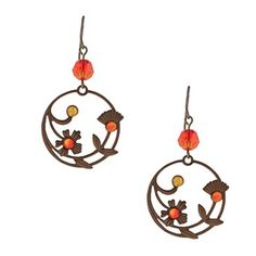 @Overstock - These perennial earrings will always bloom and lift your spirits any time of the year. These earrings hang from hook findings and shine with a highly polished finish.http://www.overstock.com/Main-Street-Revolution/MS-DJ-Casanova-Crystal-Perennial-Laurel-Earrings/6328563/product.html?CID=214117 $22.49