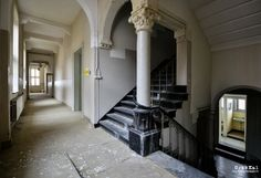 Koningsbosch, The Netherlands Built in 1874 Abandoned in 1995 Visited 04 2013    This monastery was built between 1874 and 1912. It was used as a catholic girls scho