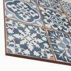 Merola Tile Faenza Azul 13 in. x 13 in. Ceramic Floor and Wall Tile (12.2 sq. ft. / case) FPEFAEA at The Home Depot - Mobile