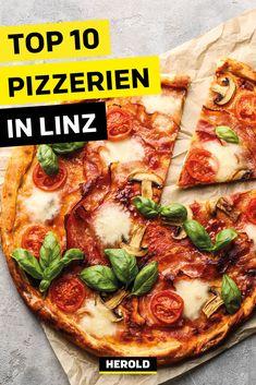 Im Artikel verraten wir dir die 10 besten Pizzerien in Linz! Pizzeria, Restaurant Bar, Vegetable Pizza, Vegetables, Food, Linz, Vegetarian Restaurants, Italy, Food Food