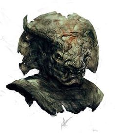 old demon head thing by jeffsimpsonkh