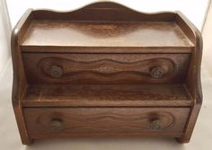 Beautiful Vintage Wooden Jewelry Music Box **PRICE REDUCED**