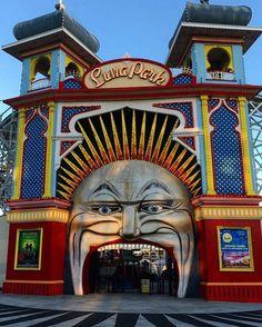 #lunapark #stkilda #melbourne #australialife #2016❤