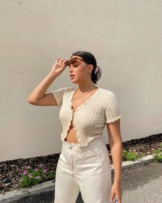 Fashion Mode, Fashion Beauty, Girl Fashion, Fashion Outfits, Knit Fashion, Curvy Girl Outfits, Trendy Outfits, Summer Outfits, Aesthetic Clothes