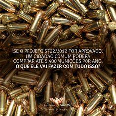 Menos armas, mais vidas: eu sou contra a revogação do Estatuto do Desarmamento!