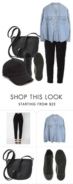 """""""22.09.2017"""" by klorikon00 on Polyvore featuring Merona, Converse and rag & bone"""