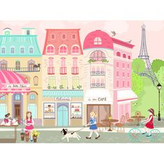 "Parisian Afternoon Canvas Art | Wayfair  18 x 25""or 30 x 40"""