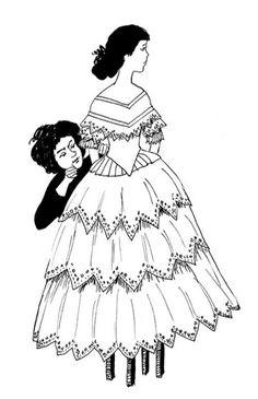 Laura, Jeżycjada Art Deco Posters, Disney Characters, Fictional Characters, Literature, Snow White, Disney Princess, Illustration, Books, Literatura