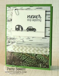 Project Life Let's Get Away Adventure Bound card by Patty Bennett