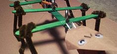 Create a Swarm of Robot Minions with These Popsicle Stick Arduino Hexapods