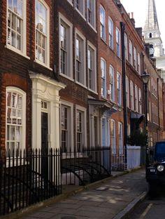 Georgian Geometry - Fournier Street, London
