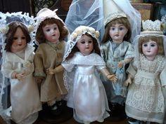 Bleuette Brides - Vintage Bleuette's outfits by Martha Nichols from LSDS patterns