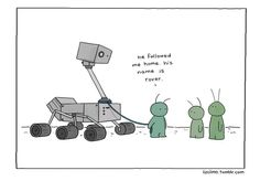 The Curiosity rover has now been on Mars for one Earth year! 8/13