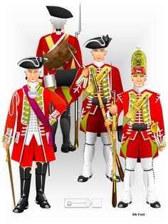 Seven Years War Uniforms - Bing images