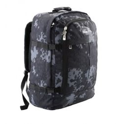 Cabin Max Backpack Flight Approved Carry On Bag Massive 44 litre Travel Hand Luggage cm - Metz Black Luggage Deals, Luggage Sizes, Luggage Brands, Hand Luggage, Backpack Straps, Backpack Bags, Childrens Luggage, Travel Packing, Cabins