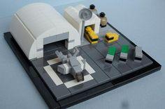 Vignette | Microscale |Airplane |by Vodky |http://moc.bricklink.com/pages/moc/mocitem.page?idmocitem=75