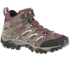 Merrell Womens Moab Mid Waterproof Hiking Boots | Sportsman's Warehouse