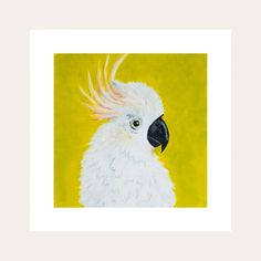 This is a beautiful whimsical take on our beloved feathered friends. This will instantly  inject colour to any living space . All Lelly Lou art prints are printed on high-quality matte paper, signed & numbered  by Lelly herself and embossed with Lelly Lou signature stamp. Limited edition of 250 & available in 3 sizes