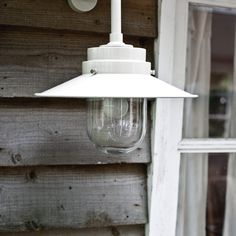 Wartime naval design inspired outdoor light