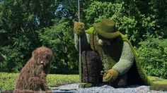 'The Man Who Planted Trees,' Love the dog!