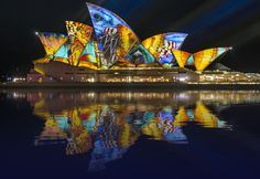 Vivid Sydney - is an outdoor annual cultural event featuring immersive light installations and projections. For more information visit - www.guiddoo.com/