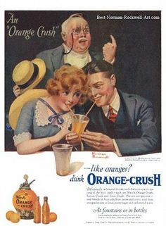 rompedas: NORMAN ROCKWELL: ORANGE CRUSH