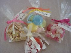 your favourite sweets as favours  https://www.facebook.com/dreamfavours