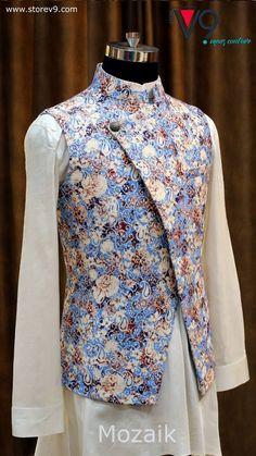 3b83e5aa Indian Men Fashion, Mens Fashion Wear, Blazer Fashion, Nehru Jacket For Men,
