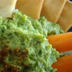 Avocado and Edamame Dip Allrecipes.com #MyPlate