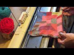 10 Stitch auf der Strickmaschine Teil 1 - YouTube