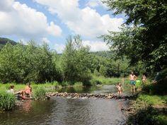 Corrèze - Camping La Champagne - Kleine camping aan de Dordogne, aan de rivier, geen zwembad