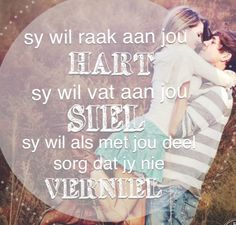n vrou wil dit hoor Husband Quotes, Quotes For Him, Relationship Texts, Relationships, My Happy Ending, Afrikaanse Quotes, Song Quotes, Qoutes, Small Words