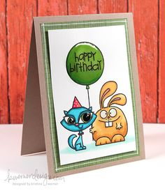 MACM - Happy Birthday (Copic Coloring)