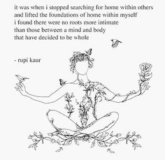 24 Empowering Short Poems From Feminist Poet Rupi Kaur Motivacional Quotes, Poetry Quotes, Words Quotes, Qoutes, Quotations, Drunk Quotes, Soul Poetry, Poetry Lessons, Angel Quotes