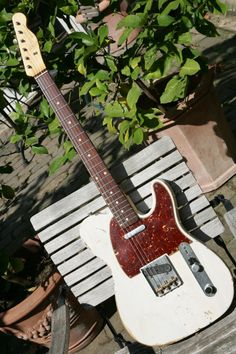 Imagine one with a maple fretboard instead of rosewood and you have my tele