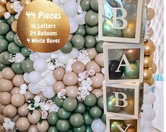 Baby Shower Decorations balloon boxes Jumbo Clear Transparent | Etsy Baby Shower Verde, Baby Shower Boho, Fotos Baby Shower, Baby Shower Photo Props, Baby Shower Backdrop, Baby Shower Balloons, Boy Baby Shower Themes, Baby Boy Shower Decorations, Elegant Baby Shower