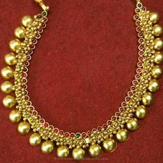 Gold Plated Antique Necklace Sets, Gold Plated Necklace Designs, Antique Gold…