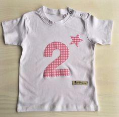 Geburtstagsshirt für kleine Prinzessinnen für den 2.Geburtstag