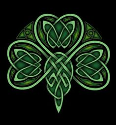 If you hold a four-leaf shamrock in your left hand at dawn on St. Patrick's Day, you get what you want very much but haven't wished for.  ~  Patricia Lynch
