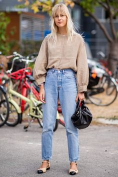 The chicest street style looks from Copenhagen Fashion Week Linda Tol copenhagen fashion week Source by untiltheverytrend fashion simple street style Fashion Mode, Denim Fashion, New York Fashion, Look Fashion, Street Fashion, Fashion Outfits, Fall Fashion, Fashion Clothes, Fall Outfits