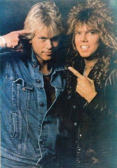 Picture of Joey Tempest and Ian Haugland Joey Tempest, Photos, Pictures, Cute Guys, Hard Rock, Heavy Metal, Europe, Singer, Beauty