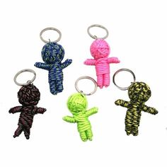 Are you throwing a birthday or holiday party soon? Did you forget about party favors? We've got you covered with our Voodoo Doll Para Cord Keychain, a keychain that will keep your friends, family, and coworkers entertained long after the party ends. Made from durable paracord, this keychain is guaranteed to last. The Voodoo Doll Para Cord Keychain features seven to eight feet of paracord and a multitude of colors / designs. It is appropriate for all ages and comes in variety of colors…