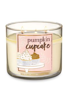 Scented Candles - Pumpkin Cupcake Candle by Bath & Body Works - Mini Candles, Bath Candles, 3 Wick Candles, Scented Candles, Candle Jars, Homemade Candles, Bath Body Works, Perfume, Chocolates