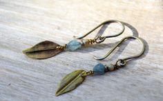 @BrendaGeiger #earrings #leaf #jewelry #accessories #styleshack