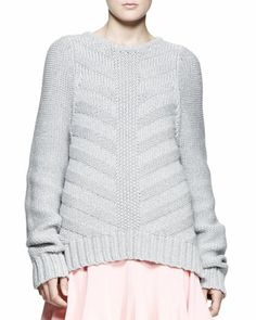 A.L.C.	Harrison Chunky Pullover Sweater