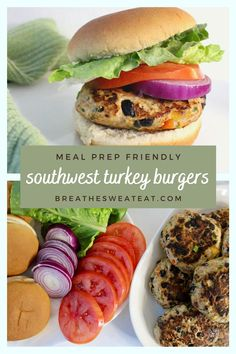 Best Turkey Burgers, Turkey Burger Recipes, Quick Easy Dinner, Quick Meals, Healthy Dinners, Macro Friendly Recipes, Macro Meals, Lunch Meal Prep, Meal Prep For The Week