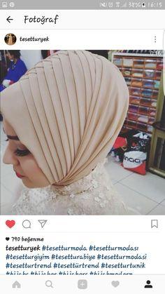 Turban design, is Wedding Hijab Styles, Hijab Wedding, Wedding Girl, Wedding Dresses, Islamic Fashion, Muslim Fashion, Hijab Fashion, Muslim Brides, Muslim Girls